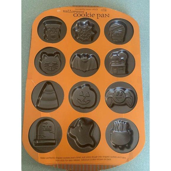 Wilton Halloween Cookie Pan- 12 count